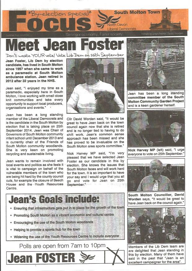 Jean Foster Flyer Page 1