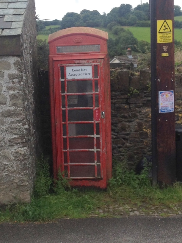 Telephone Kiosk in North Molton